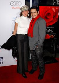 Caira Franklin and Jesse Garcia at the closing night gala screening of