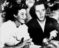 Ava Gardner and Luis Miguel Dominguin at Reno's night club.