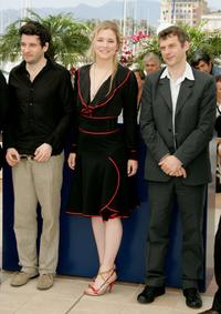 Eric Caravaca, Natacha Regnier and Director Lucas Belvaux at the photocall of