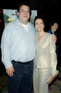 Jeff Garlin and Susie Essman at the Los Angeles premiere of