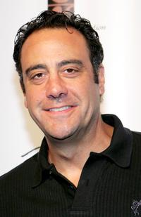 Brad Garrett at the celebrity basketball