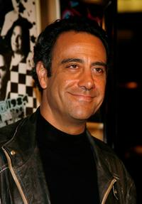Brad Garrett at the premiere of