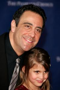 Brad Garrett and daughter at the 32nd Annual People's Choice Awards.