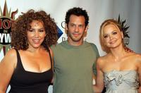 Diana-Maria Riva, Christopher Gartin and Marisa Coughlan at the 2nd Annual Hot In Hollywood event.
