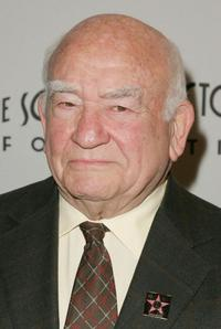 Ed Asner at the Award Of Excellence Star presentation.