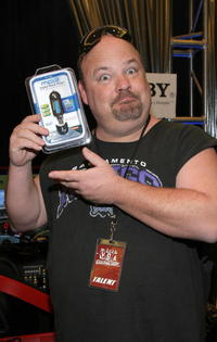 Kyle Gass at the Distinctive Assets gift lounge during the Spike TV's Video Game Awards.