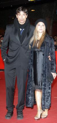 Alessandro Gassman and Sabrina Knaflitz at the premiere of