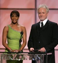 Vivica A. Fox and Anthony Geary at the 32nd Annual Daytime Emmy Awards.