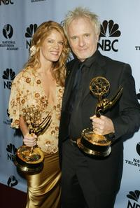 Anthony Geary and Michelle Stafford at the 31st Annual Daytime Emmy Awards.