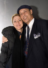 Edie Falco and Kevin Geer at the 10th Anniversary benefit reading of