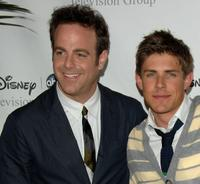 Paul Adelstein and Chris Lowell at the Disney and ABC's TCA - All Star Party.