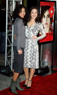 Lourdes Benedicto and Camille Guaty at the tribute to Penelope Cruz screening of Volver during the 2006 AFI FEST.