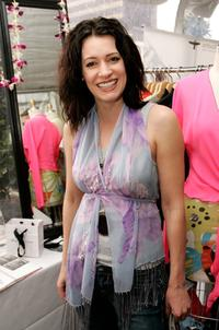 Paget Brewster at the Showtime Style 2006, a pre-Golden Globe awards style retreat.