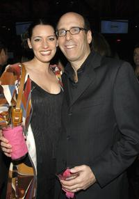 Paget Brewster and Matt Blank at the after party of the second season premiere of