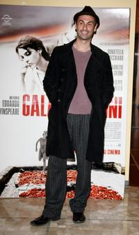 Fabrizio Gifuni at the photocall and press conference of