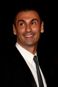 Fabrizio Gifuni at the premiere of