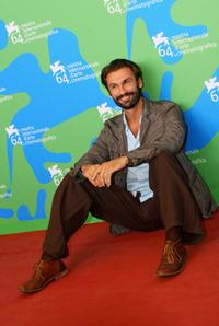 Fabrizio Gifuni at the 64th Venice Film Festival.