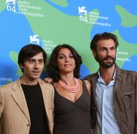 Luigi Lo Cascio, Donatella Finocchiaro and Fabrizio Gifuni at the 64th Venice Film Festival.