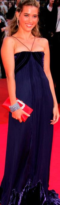 Vahina Giocante at the premiere of