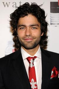 Adrian Grenier at the second annual anniversary gala for Charity: Water.