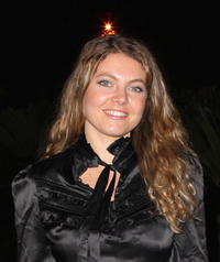 Sophie Guillemin at the opening party of 12th International