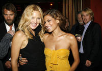 Kate Hudson and actress Eva Mendes at the after party for the L.A. premiere of