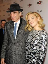 Daniel Day-Lewis and Kate Hudson at the New York premiere of