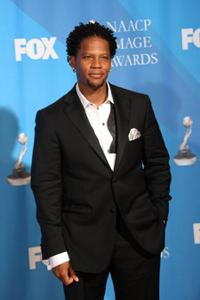D.L. Hughley at the 39th NAACP Image Awards.