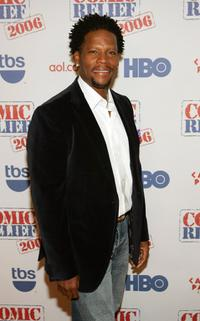D.L. Hughley at the Comic Relief 2006 show.
