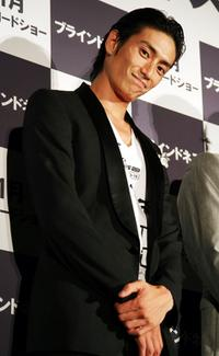 Yusuke Iseya at the special screening of