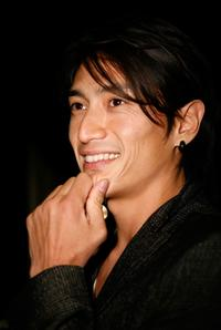 Yusuke Iseya at the American premiere screening of