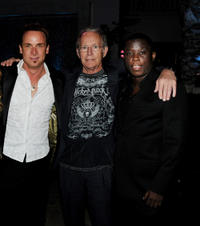 Colin Cunningham, Lance Henriksen and Mpho Koaho at the after party of California premiere of