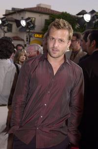 Gabriel Macht at the premiere of