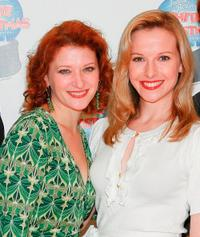 Kerry O'Malley and Meredith Patterson at the photocall of