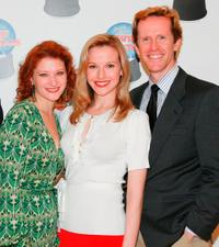 Kerry O'Malley, Meredith Patterson and Jeffry Denman at the photocall of