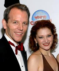 Stephen Bogardus and Kerry O'Malley at the after party of the Opening Night of