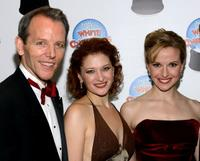Stephen Bogardus, Kerry O'Malley and Meredith Patterson at the after party of the Opening Night of