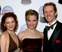 Kerry O'Malley, Meredith Patterson and Jeffry Denman at the after party of the Opening Night of