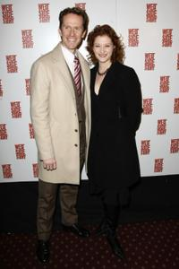Jeffrey Denman and Kerry O'Malley at the Broadway Opening Night of