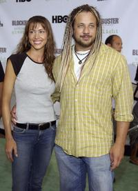 Shannon Elizabeth and Joseph D. Reitman at the premiere of