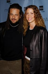 Joseph D. Reitman and Shannon Elizabeth at the Macy's and American Express Passport 20/02 20th Anniversary Gala.