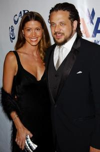 Shannon Elizabeth and Joseph D. Reitman at the