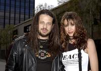 Joseph D. Reitman and Shannon Elizabeth at the