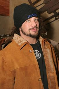 Joseph D. Reitman at the Gibson Gift Lounge during the 2005 Sundance Film Festival.