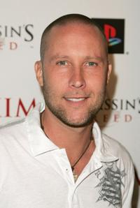 Michael Rosenbaum at the official launch of