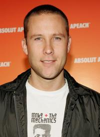 Michael Rosenbaum at the Absolute Apeach launch.