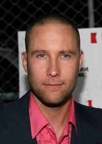 Michael Rosenbaum at the afterparty of the premiere of
