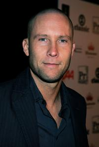Michael Rosenbaum at the opening of