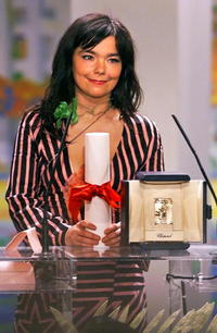 Bjork at the 53rd Cannes Film Festival.