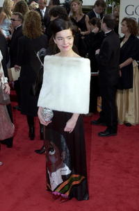 Bjork at the 58th Annual Golden Globes.
